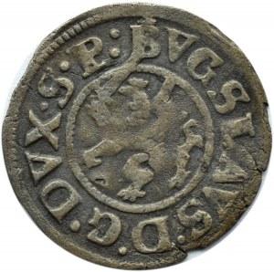 Pomorze, Szczecin, Bogusław XIV, podwójny szeląg 1622, haki, Szczecin