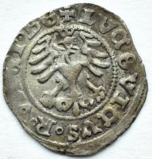 Śląsk, Świdnica, Ludwik, półgrosz 1520, piękny egzemplarz