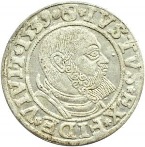 Prusy Książęce, Albrecht, grosz pruski 1539, Królewiec