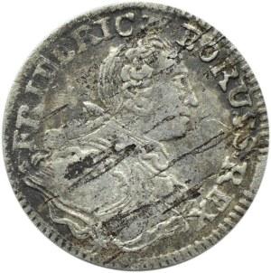 Niemcy, Prusy, Fryderyk, 3 grosze 1752 B, Wrocław