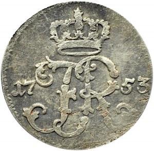 Niemcy, Prusy, Fryderyk II Wielki, 1/24 talara 1753 A, Berlin