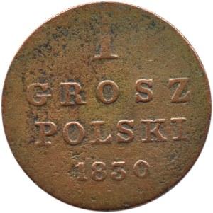Mikołaj I, 1 grosz 1830 F.H., Warszawa