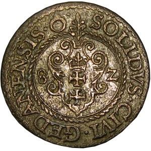 Stefan Batory, szeląg 1582, Gdańsk, otwarte O - POL