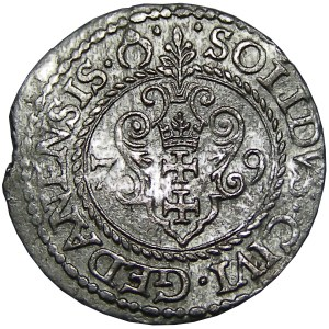 Stefan Batory, szeląg 1579, Gdańsk
