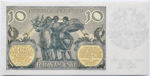 Polska, II RP, 10 złotych 1929, seria DW, okolicznościowy nadruk, 300 lat bitwy pod Wiedniem