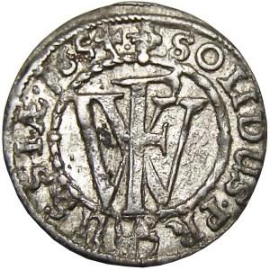 Prusy/Rzeczpospolita, Fryderyk Wilhelm, szeląg 1654, Królewiec