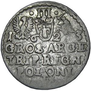 Zygmunt III Waza, trojak 1623, Kraków, SIGIS