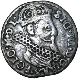 Zygmunt III Waza, trojak 1623, Kraków, SIG/POLO - NIENOTOWANY u Igera