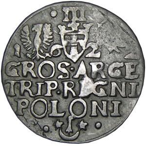 Zygmunt III Waza, trojak 1622, Kraków, ...REGNI... (R3)