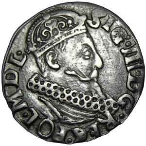 Zygmunt III Waza, trojak 1621, Kraków, awers ...REG...