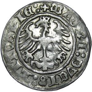 Zygmunt I Stary, półgrosz 1512 skrócona data (1Z), Wilno