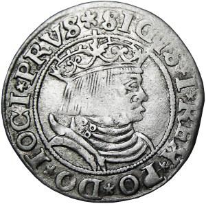 Zygmunt I Stary, grosz 1531, Toruń, PRVSS