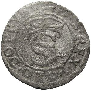 Zygmunt I Stary, szeląg 15Z8 (1528), Toruń, mała korona (R5)