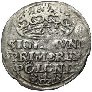 Zygmunt I Stary, grosz 1528, Kraków, podwójne O