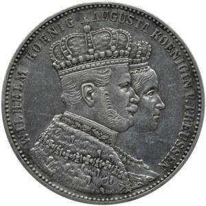 Niemcy, Prusy, Wilhelm i Augusta, Talar koronacyjny 1861 A, Berlin