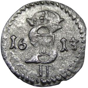 Zygmunt III Waza, dwudenar 1613, Wilno (R2)