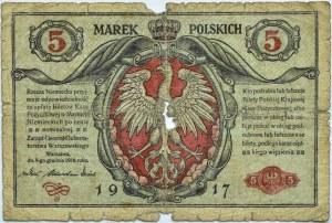 Polska, II RP, 5 marek 1916