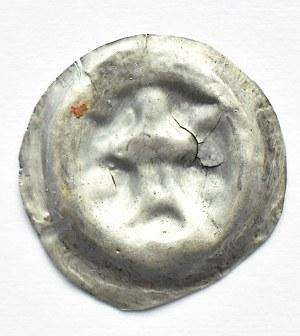 Brakteat, baszta, II połowa XII wieku