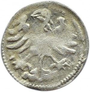 Aleksander I Jagiellończyk, denar litewski, Wilno, gotycka A