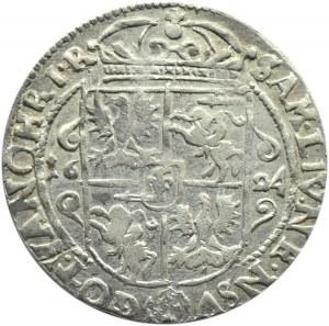 Zygmunt III Waza, ort 1624, Bydgoszcz, ....PRV:M+