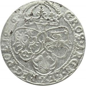 Zygmunt III Waza, szóstak 1626, Kraków, zapchany stempel na cyfrze