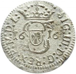 Zygmunt III Waza, szeląg 1616, Wilno