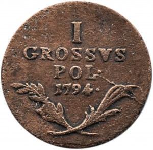 Galicja i Lodomeria, 1 grosz 1794, Wiedeń