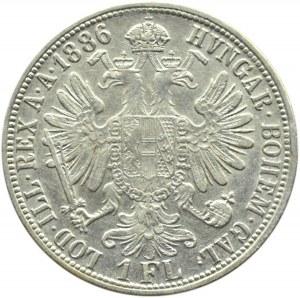 Austro-Węgry, Franciszek Józef I, 1 floren 1886, Wiedeń