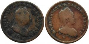 Ks. Mediolanu, Maria Teresa, lot dwóch soldo 1777 S -1779 W, Mediolan