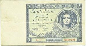 Polska, II RP, 5 złotych 1930, seria Y, Warszawa
