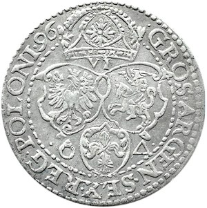Zygmunt III Waza, szóstak 1596, Malbork