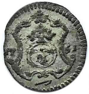 August III Sas, halerz 1751, Drezno, ładny