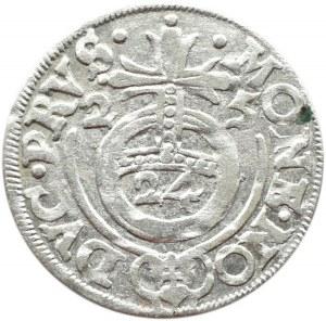 Prusy/Rzeczpospolita, Jerzy Wilhelm, półtorak 1625, Królewiec, destrukt