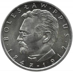 Polska, PRL, 10 złotych 1982, Bolesław Prus, destrukt , UNC