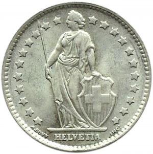 Szwajcaria, 1 frank 1964 B, Berno, UNC