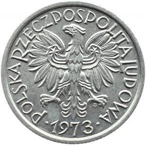 Polska, PRL, Jagody, 2 złote 1973, Warszawa, UNC