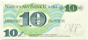 Polska, PRL, J. Bem 10 złotych 1982, seria A, UNC