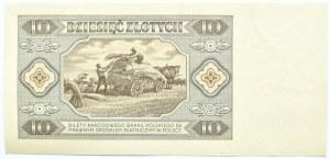 Polska, RP, 10 złotych 1948, seria AM, Warszawa, UNC