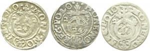 Zygmunt III Waza, lot 3 półtoraków 1620-1623, Bydgoszcz, (6)