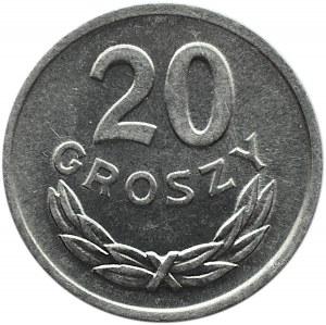 Polska, PRL, 20 groszy 1965, Warszawa