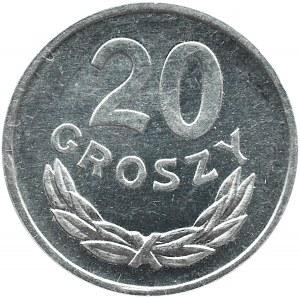 Polska, PRL, 20 groszy 1978, Warszawa, proof-like