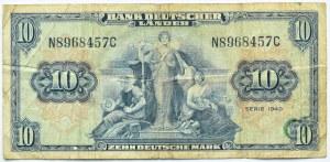 Niemcy, RFN, 10 marek 1949, seria N
