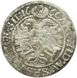Śląsk, Leopold, 3 krajcary 1666, Wrocław