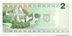 Litwa, M. Valancius, 2 lity 1993, seria DAF