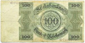 Niemcy, Republika Weimarska, 100 marek 1924, seria C/B, rzadkie