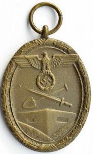 Niemcy, III Rzesza, Medal za Pracę przy Budowie Schronów, prod. Carl Poellath