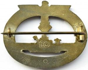 Niemcy, III Rzesza, Odznaka wojenna U-Boot, prod. Friedrich Orth