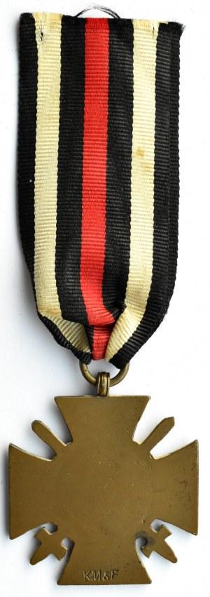 Niemcy (1914-1918), Krzyż zasługi 1914-1918, wstążka, sygn. KM&F
