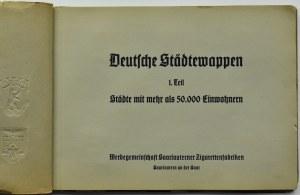 Deutsche Städtewappen (Herby Miast Niemieckich - część I), Saarlautern 1935