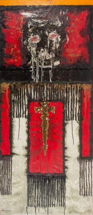 Rajmund Ziemski (1930 Radom – 2005 Warszawa), Pejzaż 12/71, 1972